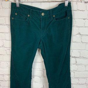 LOFT Modern Straight Corduroy Pants size 6P